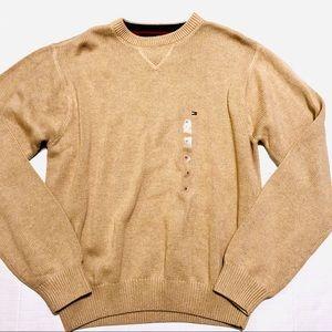 NWOT Tommy Hilfiger Sweater Tan Men's Medium